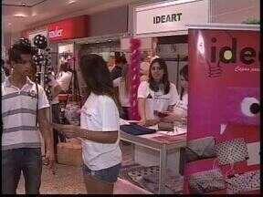 Feira reúne empresas e produtos criados por estudantes do ensino médio - Evento no Shopping Palladium é o final do processo do Junior Achievement