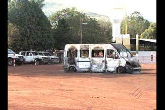 Manifestantes depredam canteiro de obras da Vale no Pará - Nove pessoas foram presas neste domingo (19).Manifestantes depredaram alojamentos e veículos da Vale e da Polícia.