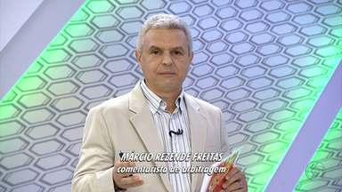 Márcio Rezende Freitas comenta as polêmicas de Atlético-MG x Botafogo - Comentarista diz que árbitro deixou de marcar pênaltis para as duas equipes no jogo válido pela 18ª rodada do Brasileirão.