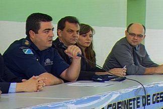 Força de segurança apresentam balanço da Operação Presença 3 - As forças de segurança pública que integram o gabinete de gestão integrada de fronteira apresentaram nesta segunda-feira um balanço da operação realizada neste fim de semana em Corumbá e Ladário.