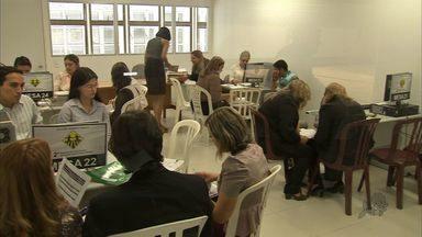 Fórum de Fortaleza promove mutirão de conciliação do DPVAT - Repórter Sabrina Aguiar foi ao Fórum Clóvis Beviláqua e mostra para gente como foi o primeiro dia das audiências.