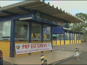 Policiais Rodoviários Federais entram em greve nesta segunda-feira - Os policiais definiram como vai ser a paralisação em uma reunião no posto da polícia na BR-116.