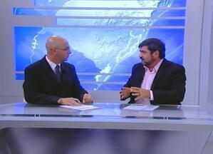 Cadidato à prefeitura de Passo Fundo Rene Cecconello concede entrevista ao RBS Notícias - Candidato da coligação Juntos Podemos Mais apresentou as propostas de governo