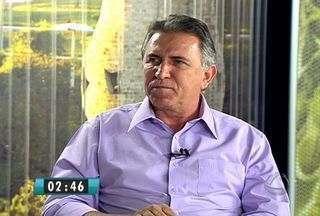Edson Giroto concede entrevista ao MSTV 2ª Edição - O candidato do PMDB à Prefeitura de Campo Grande fala de seus projetos caso seja eleito. A ordem das entrevistas foi definida por sorteio.