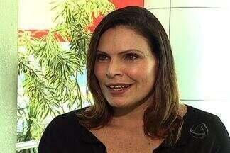 Sexóloga do quadro do Altas Horas participa de evento em Campo Grande - Laura Müller esteve na cidade nesta semana e a equipe da TV Morena aproveitou para bater um papo com ela.