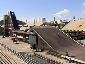 Sambódromo do Rio é palco do desafio da Mega Rampa - undefined