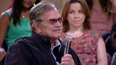 Tarcísio Meira diz que prefere esquecer que o tempo está passando - Ator conta que essa história de melhor idade é balela