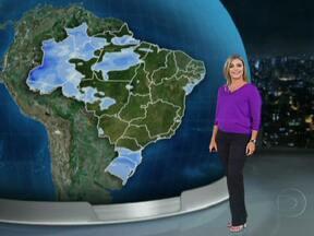 Temperaturas voltam a subir no fim de semana em todo o Brasil - Setembro já começa mais quente que o normal, com máxima de 27°C em Porto Alegre e no Rio; 36°C em Goiânia; e 38°C em Porto Velho, Cuiabá e Teresina.O sol brilha forte e a umidade do ar fica baixa entre o norte do Rio Grande do Sul, o Acre e o Piauí.