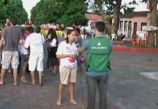 Videorrepórteres espalhados pelo interior do estado fazem parte dos 40 anos da Tv Amazonas - Uma história contada em boa parte, pelos videorrepórteres espalhados pelo interior do estado.