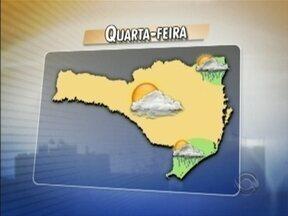 Confira a previsão do tempo - As informações são do meteorologista Leandro Puchalski.
