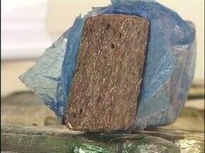 Meia tonelada de maconha é apreendida no noroeste - A droga estava em um carro que seguia na PR 463