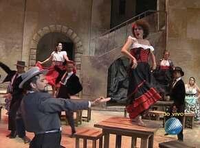 Ópera 'Carmen' estreia nesta quinta-feira em Salvador - Espetáculo conta uma história de amor, e é uma das óperas mais interpretadas no mundo.