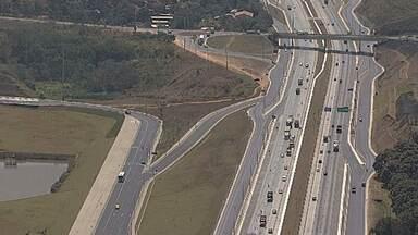Começa obra de recuperação do asfalto da MG-10 - Obra é entre Confins e Belo Horizonte.
