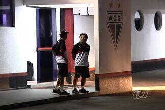 Jogadores do Atlético-GO fazem reunião à portas fechadas na reapresentação - Dragão é o lanterna do Brasileirão, com apenas 17 pontos.