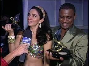 Rodrigo Simas e Raquel Guarini são os grande campeões da dança dos famosos 2012 - Confira tudo o que rolou nos bastidores da grande final