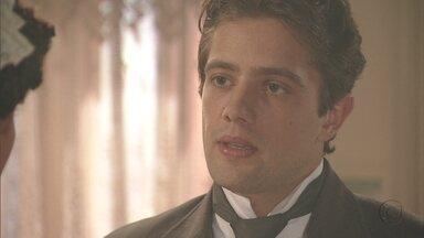 Lado a Lado, capítulo de segunda-feira, dia 17/09/2012, na íntegra - Albertinho pede Isabel em casamento