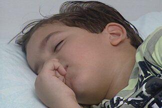 Ronco em crianças pode ser causa de problemas respiratórios - Pais devem ficar atentos aos ronco dos filhos, e buscar ajuda de médicos.