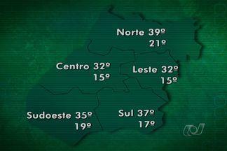 Veja como fica o tempo nesta semana, em Goiás - A primavera tem características do inverno, ou seja, seco e às vezes frio e também do verão, com chuva de pancadas fortes com vento e temperatura mais amena no período da tarde por causa da nebulosidade.