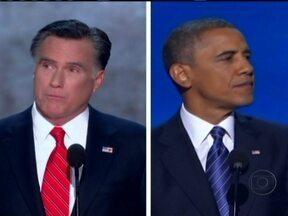 Estados Unidos terá primeiro debate presidencial - O presidente Baracak Obama e o rival republicano Mitt Romney vão se enfrentar em uma universidade do estado do Colorado. Romney tem a missão de diminuir a vantagem de Obama nas pesquisas de intenção de voto.