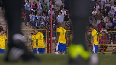 Jogadores da do Atlético-MG que são da Seleção se preparam para jogo contra o Figueirense - Atletas entram em campo na partida deste sábado (6).