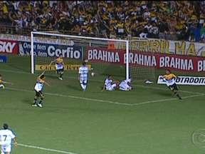 Criciúma vence o Ceará e fica na liderança da Série B do Brasileirão - Em Santa Catarina, o Criciúma derrotou o Ceará por 2 a 1 e dormiu líder da Segundona. O Boa Esporte venceu o Paraná pelo mesmo placar. América-RN e CRB ficaram no 3 a 3. Barueri e Joinville empataram em 1 a 1.
