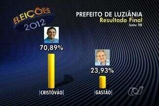 Cristóvão, do PSD, é o novo prefeito de Luziânia em Goiás - Apesar de as eleições terem sido tranquilas na região do entorno de Brasília, 80 pessoas foram presas por boca de urna.