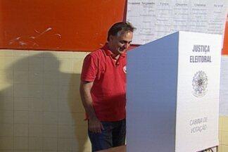 Veja como foi a votação dos sete candidatos à prefeitura de João Pessoa - Todos os sete candidatos votaram no horário da manhã.