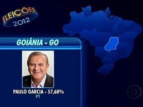 Veja o resultado do 1º turno das eleições nas capitais do Centro-Oeste - Em Cuiabá, Mauro Mendes e Lúdio vão para o 2º turno. Em Campo Grande, o 2º turno terá Alcides Bernal e Giroto. Goiânia elegeu Paulo Garcia, com 57,68%.