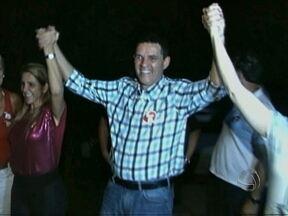 Juarez Costa reeleito em Sinop - O favoritismo do candidato Juarez Costa se confirmou. Ele discursou por aproximadamente 5 minutos. Em seguida foi para a principal avenida da cidade onde participou de outra comemoração.