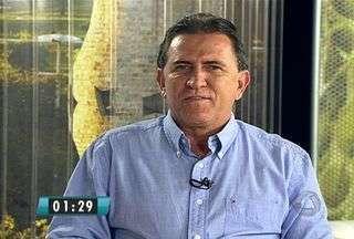 Candidato do PMDB, Edson Giroto, é entrevistado no MSTV - Hoje, o MSTV 1ª Edição conversa com os candidatos que vão disputar o segundo turno para prefeitura de Campo Grande. Por ordem definida em sorteio, o segundo a ser entrevistado é Edson Giroto (PMDB).
