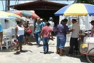 Em Timon, a população enfrentou uma sensação térmica de mais de 40º para votar - População teve que aguentar muito calor neste domingo (7).