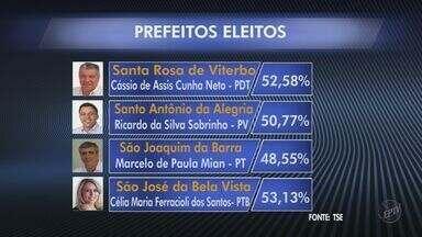 Veja resultados das eleições em Sertãozinho, Serra Azul e outras cidades da região - Jornal da EPTV mostra prefeitos eleitos nas cidades da região de Ribeirão Preto.