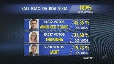 Vanderlei da Prefeitura (PMDB) é eleito em São João da Boa Vista, SP - Vanderlei da Prefeitura (PMDB) é eleito em São João da Boa Vista, SP.