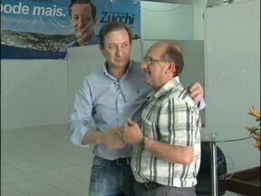 Em Pato Branco, Augustinho Zucchi, aproveitou para agradacer os eleitores - Ele também ouviu o pedido dos moradores