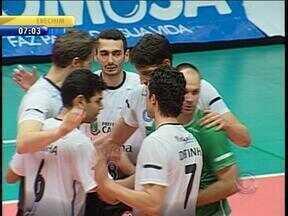 Canoas é campeão gaúcho de vôlei - Final terminou em 3 a 0 contra o Novo Hamburgo.