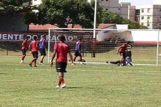 Atlético-GO faz duelo dos piores do Brasileirão contra o Figueirense - Equipes se enfrentam pela quarta vez no ano.