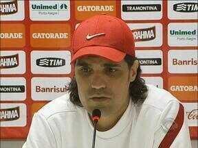 Fernandão faz segredo com novo desfalque do Inter - Equipe tem uma lista longa de desfalques.