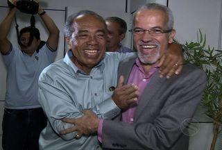 Após vencer eleição, João Alves se reúne com Edvaldo, em Aracaju - Em um primeiro momento eles conversaram sobre o início do processo de transição dos governos que deve se iniciar ainda este mês.