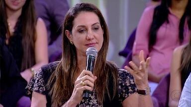 'Uma hora eu pedi para o Bernardo diminuir a cobrança', lembra Fernanda Venturini - Professora Érica ressaltou a importância de valorizar o que o aluno tem de melhor