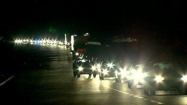 Volta do feriado teve congestionamento na chegada em Belo Horizonte - Excesso de veículos e chuva complicaram trânsito
