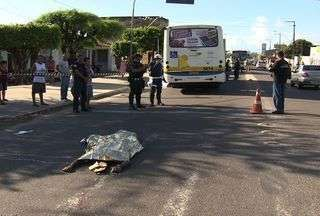 Idoso morre atropelado em Aracaju - Idoso morre atropelado em Aracaju