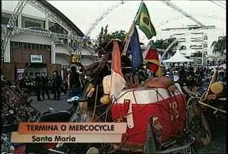 Termina o Mercocycle em Santa Maria - Evento reuniu milhares de motociclistas no fim de semana