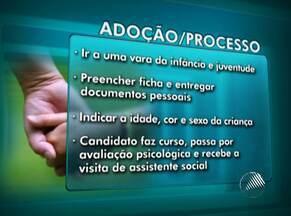 Saiba qual o processo para adotar legalmente uma criança - Caso de adoção com indícios de irregularidade ocorreu na cidade de Monte Santo, no sertão da Bahia. Segundo a Justiça, a primeira etapa do processo leva, no mínimo, quatro meses.