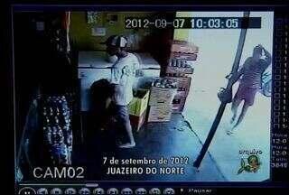 Mulher sofre golpe de faca enquanto trabalhava no interior do Ceará - Ela já havia expulsado ladrões com golpes de garrafa.