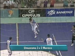 Umuarama futsal vence o Marreco e segue no paranaense - O jogo foi no ginásio Amário Vieira