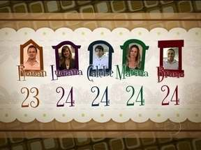 Veja a avaliação dos concorrentes para o jantar de Bruno - Ronan, Luciana e Marina avaliam a recepção do rapaz com 24 pontos