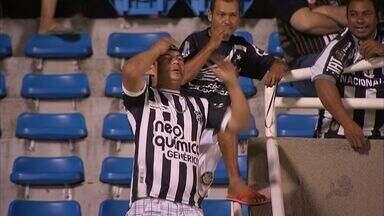 Ceará já leva 540 minutos sem fazer gols - Ceará já está a 540 minutos sem fazer nenhum gol. Jogadores esperam encerrar a seca