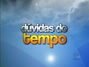 Meteorologista Leandro Puchalski tira dúvidas dos telespectadores - Meteorologista Leandro Puchalski tira dúvidas dos telespectadores.