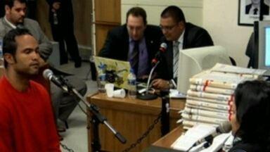Advogado de Bruno diz que vai negar que Eliza foi morta - Imagens mostram parte dos depoimentos dos réus.