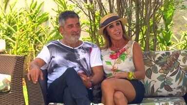 Casal fala sobre como é viver um relacionamento na maturidade - Os dois se apaixonaram depois dos 50 anos e estão juntos há três